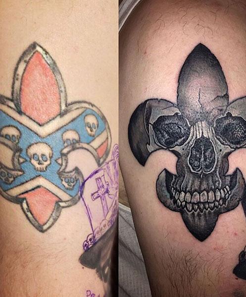Cover-up-tattoo-onderarm