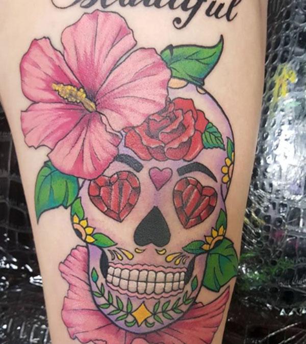 Mexican-skull-tattoo