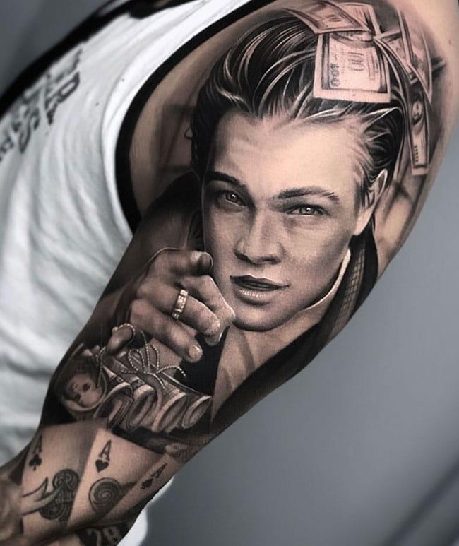 Tattoo-sleeve-leonardo-di-capria-kind