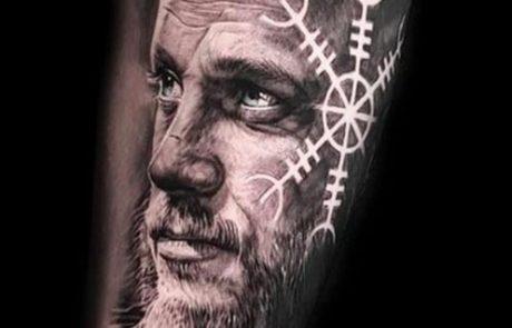 Viking-tattoo-ragnar