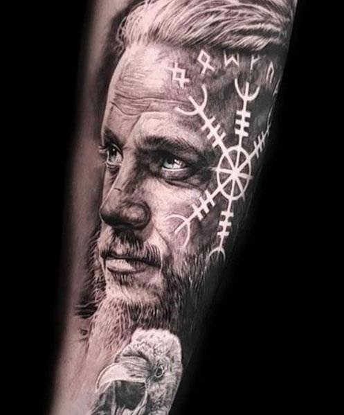 Symbole tattoo mythologie nordische Wikinger Symbole,