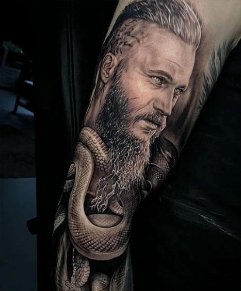 Viking-tattoo-sleeve