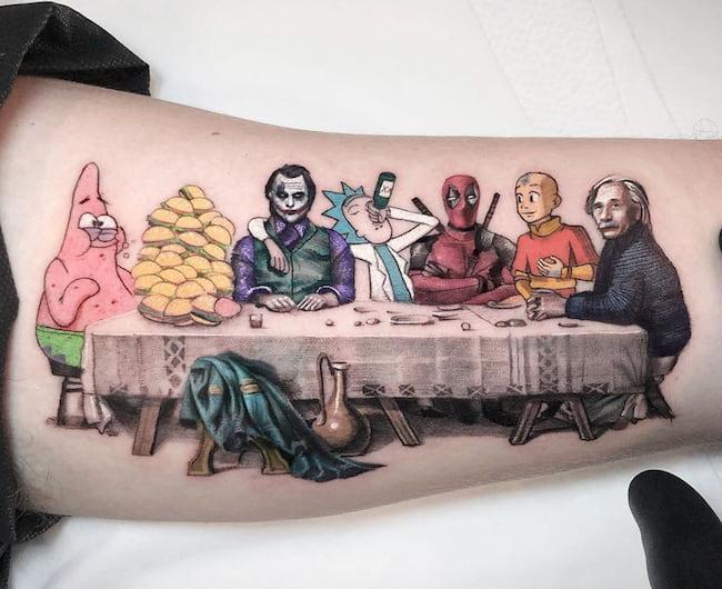 Tattoo-bovenarm-bicep
