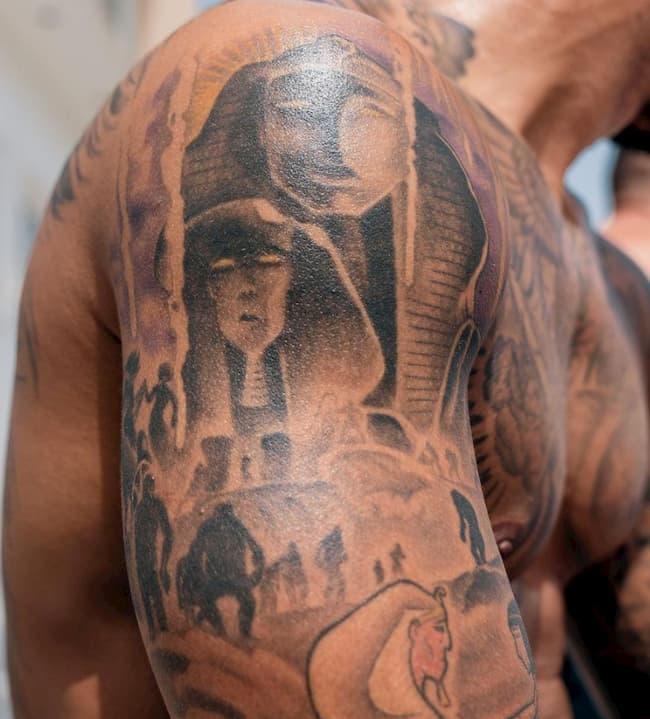 Egyptische tattoo memphis