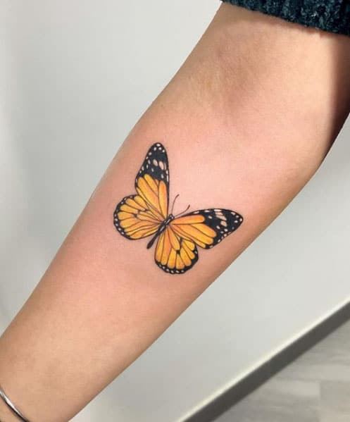 tattoo-vlinder
