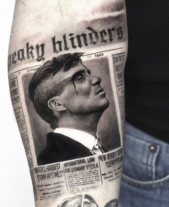 Peaky Blinders tattoo