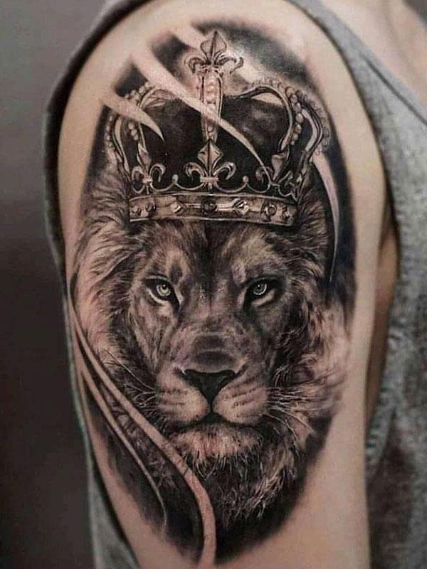 Leeuw-met-kroon