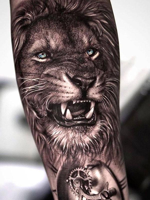 tattoo-leeuw-3d